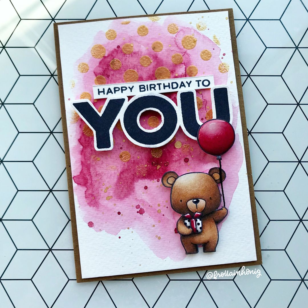 Hier noch eine Geburtstagskarte Es ist so praktisch, wenn man ...