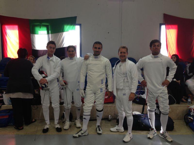 UAQ Fencing 2013 - MK Fencing team