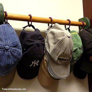 Baseball Cap Storage And Organization