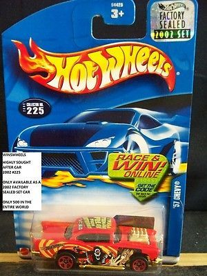 Collections And Lots 73252 Hot Wheels 2002 225 1 57 Chevy Teenage Freak Fact Sealed Buy It Now Only Hot Wheels Mattel Hot Wheels Hot Wheels Treasure Hunt