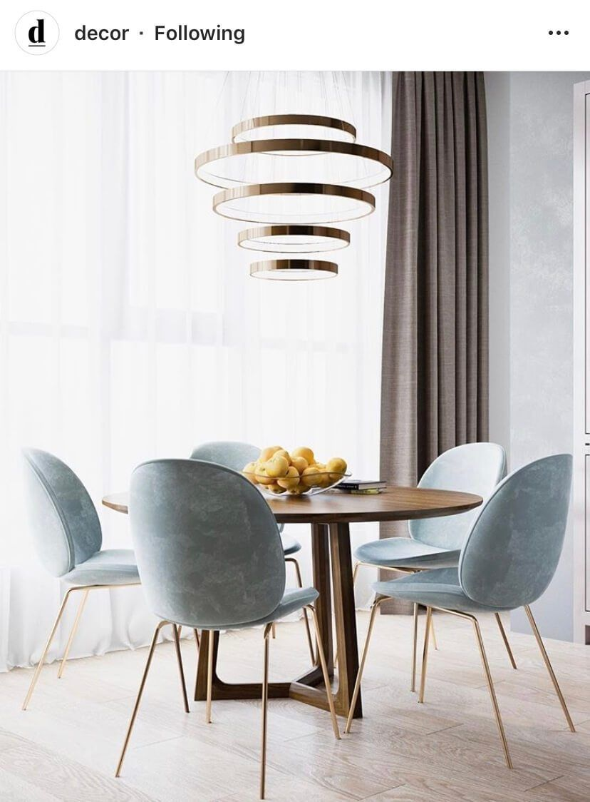 Interior Decor Inspiration Bunnies Beauty Photoshoot All The Stuff I Care About Small Dining Room Table Dining Room Small Round Dining Room