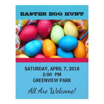 Easter egg hunt flyer diy cyo personalize design idea new easter egg hunt flyer diy cyo personalize design idea new special custom negle Images
