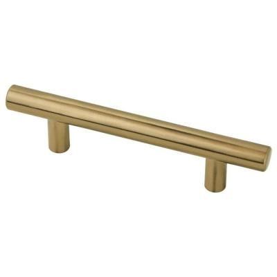 (76mm) Champagne Bronze Bar Pull. Kitchen PullsKitchen HardwareCabinet ...