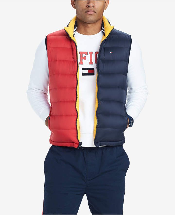 Tommy Hilfiger Packable Down Vest Chaqueta para Hombre