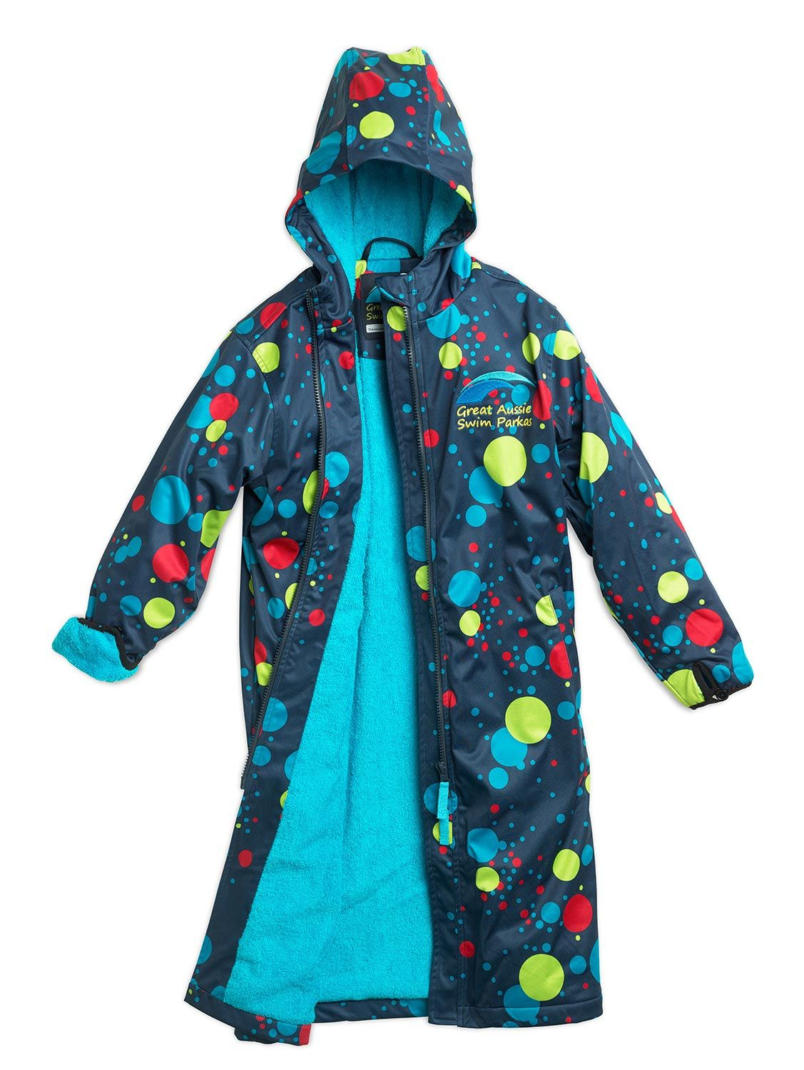 efe1780d5 Related image Learn To Swim, Kids Swimming, Parka, Raincoat, Polka Dots,