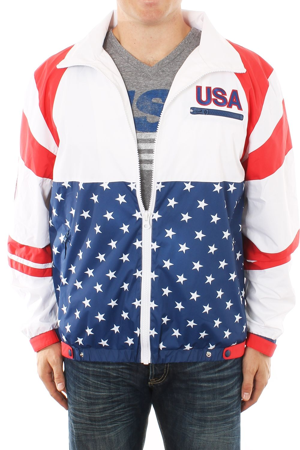 Men's USA Jacket Usa windbreaker, American flag clothes