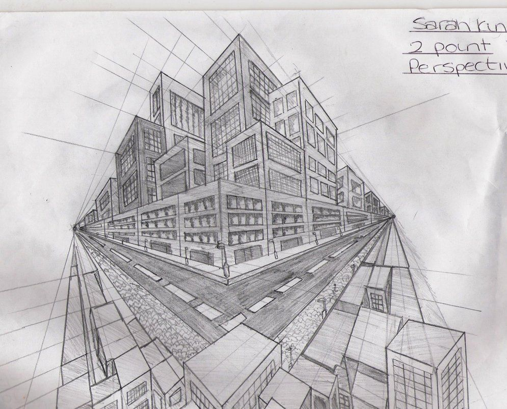 2 point perspective buildings by xxxxxsvkxxxxx  Favorites
