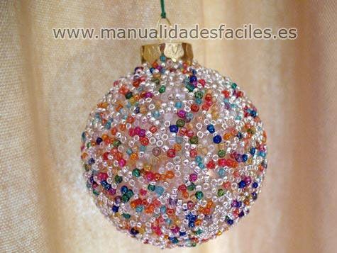 5ad63923ae0 Bolas de navidad decoradas