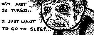 ZombiU survivor has been up too long  Tags: Nintendo Miiverse 3DS WiiU ZombiU