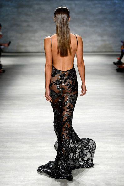 Michael Costello - Runway - Mercedes-Benz Fashion Week Spring 2015 <3 best dress !