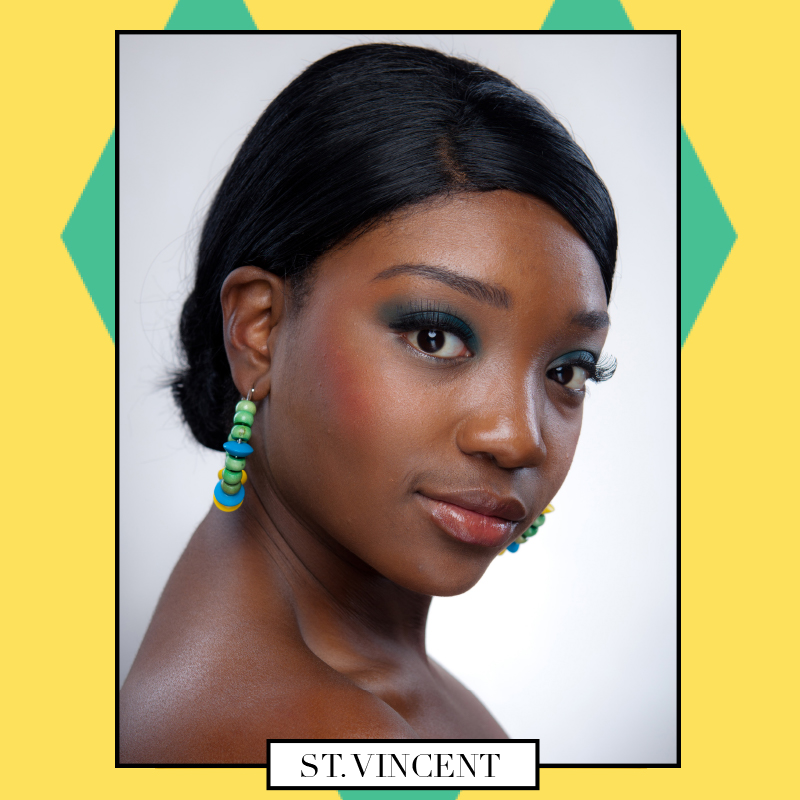 Happy Independence Day St  Vincent! Represent! Earrings} St