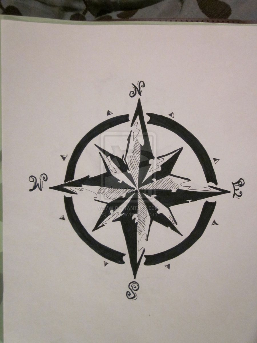 Compass Rose by cfilly.deviantart.com on @deviantART | tatsss ...