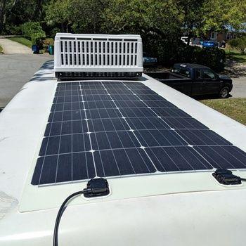 400 Watt 12 Volt Solar Rv Kit Monos Furgoneta