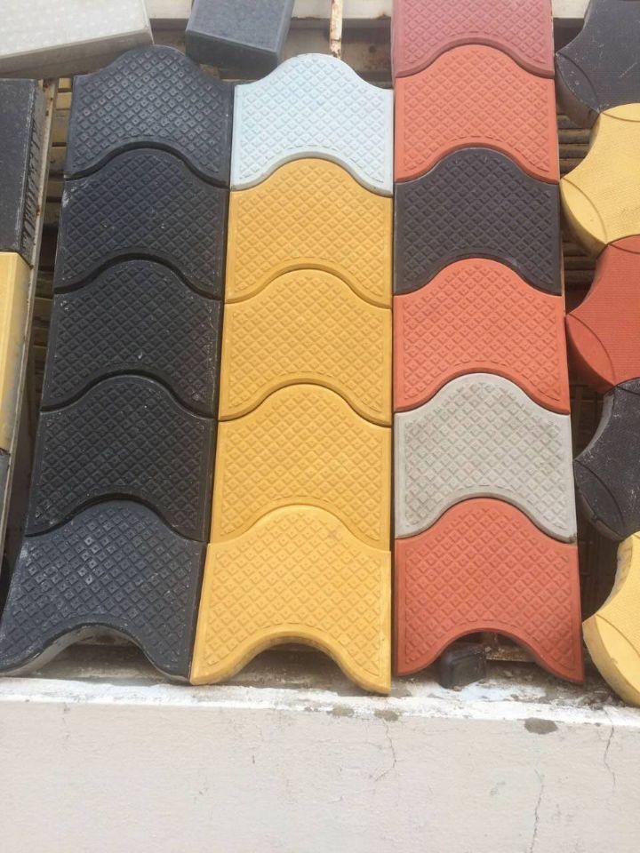 Tile Arow Plastic Paver Stone Molds Concrete Building Blocks