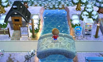 さすけ 昔ながらの銭湯 Animal Crossing 3ds Animal Room