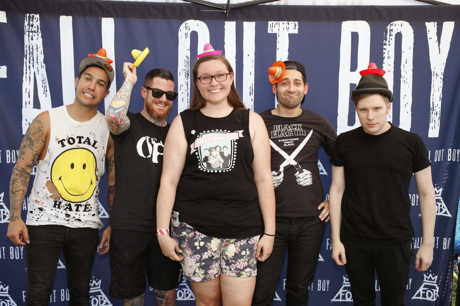 Fall Out Boy Meet And Greet Photos Google Search Fall Out Boy
