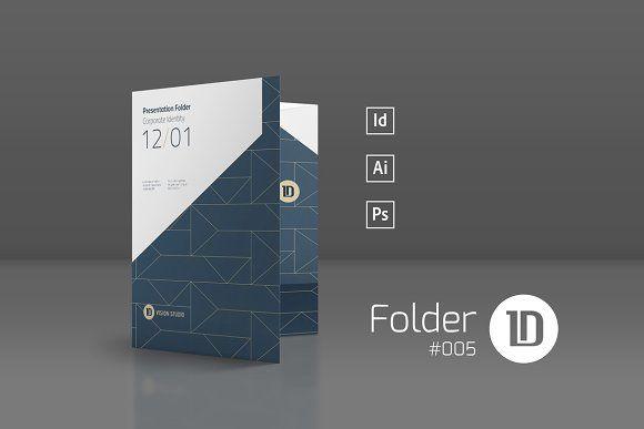 Presentation Folder Template 005 By Id Vision Studio On
