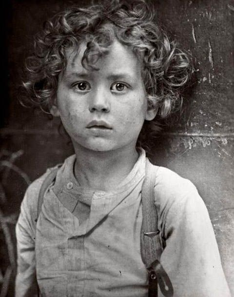 Petit Frenchman by Lewis W. Hine, 1918.