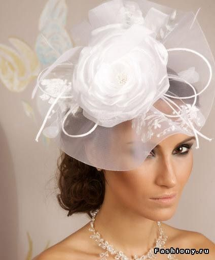 Свадебную шляпу своими руками