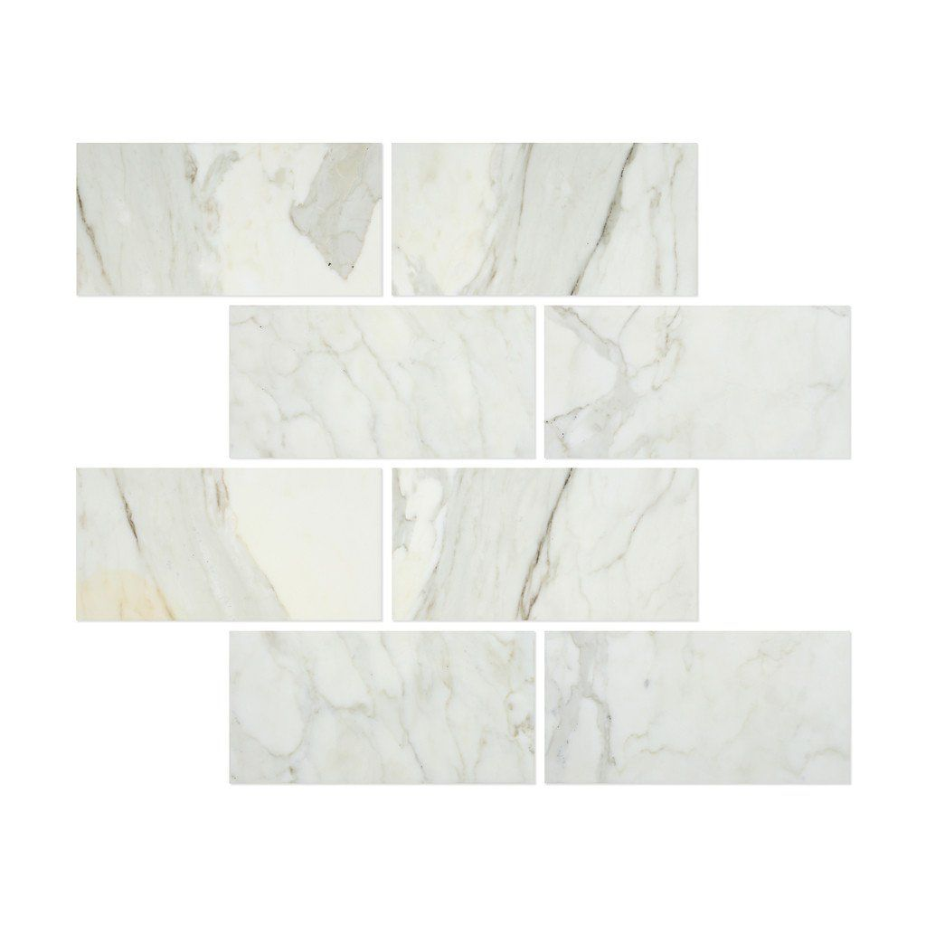 12 X 24 Calacatta Gold Marble Honed Field Tile Calacatta Gold Marble Gold Marble Calacatta Gold
