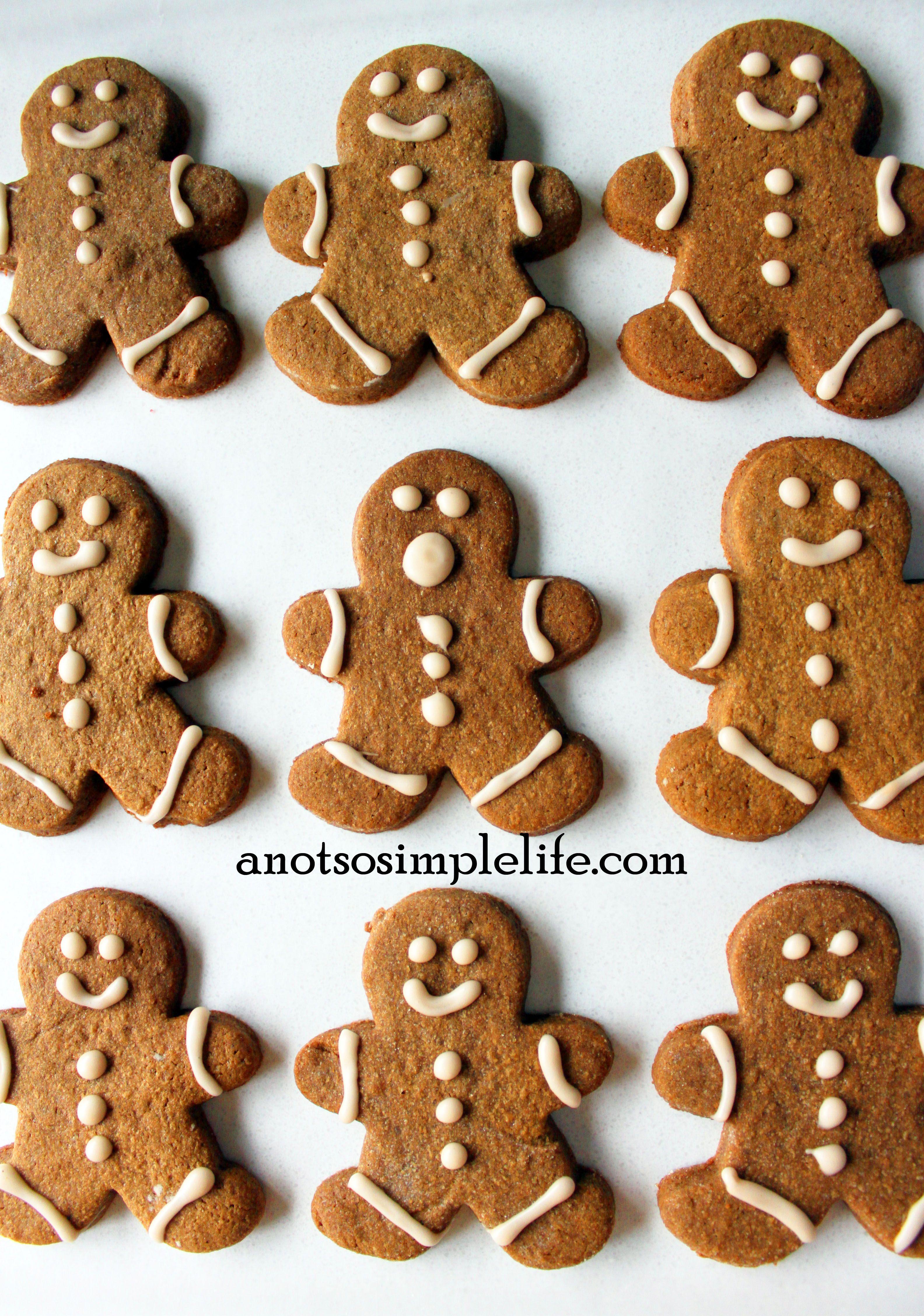 Allergen Free Gingerbread Men Gluten Free Dairy Free Soy Free
