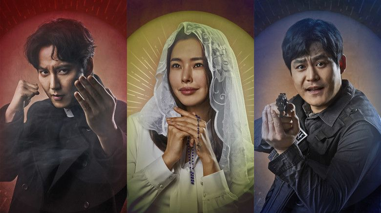 Kim nam gil praises the passion of the fiery priest cast