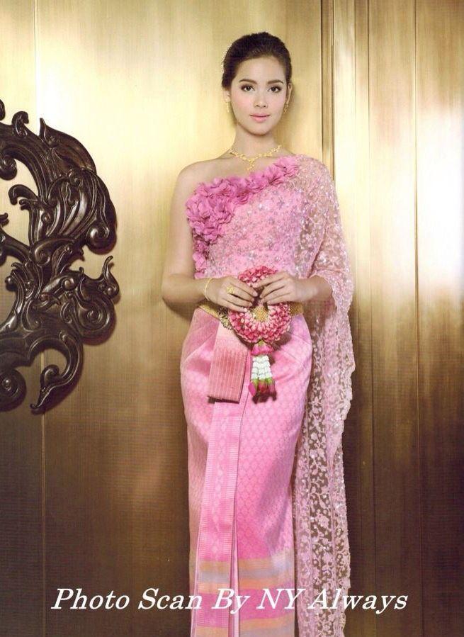 Thai dress costume | thai yaya | Pinterest