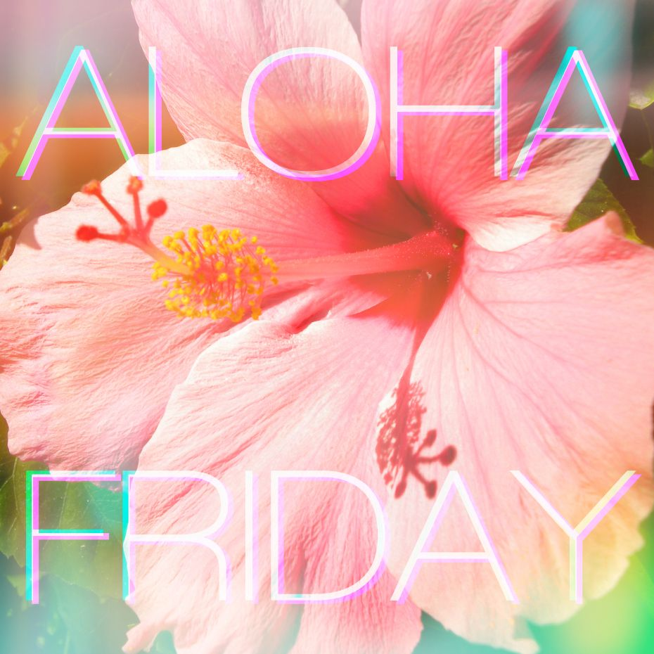 Aloha Friday Aloha Friday Hawaiian Tattoo Aloha