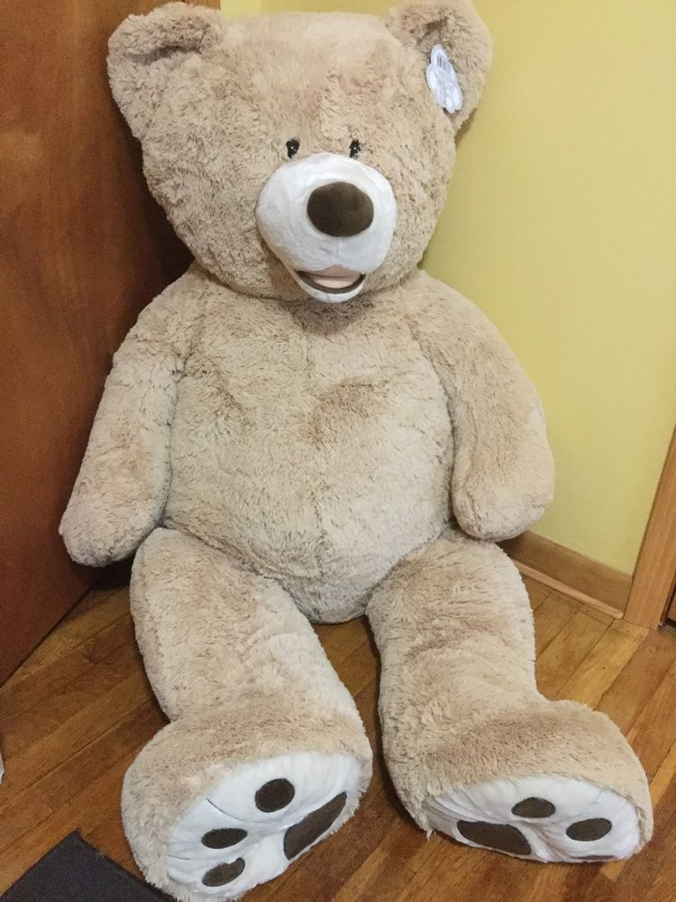 "HUGFUN Teddy Bear 53"" Plush Giant Life Size Floppy Large"