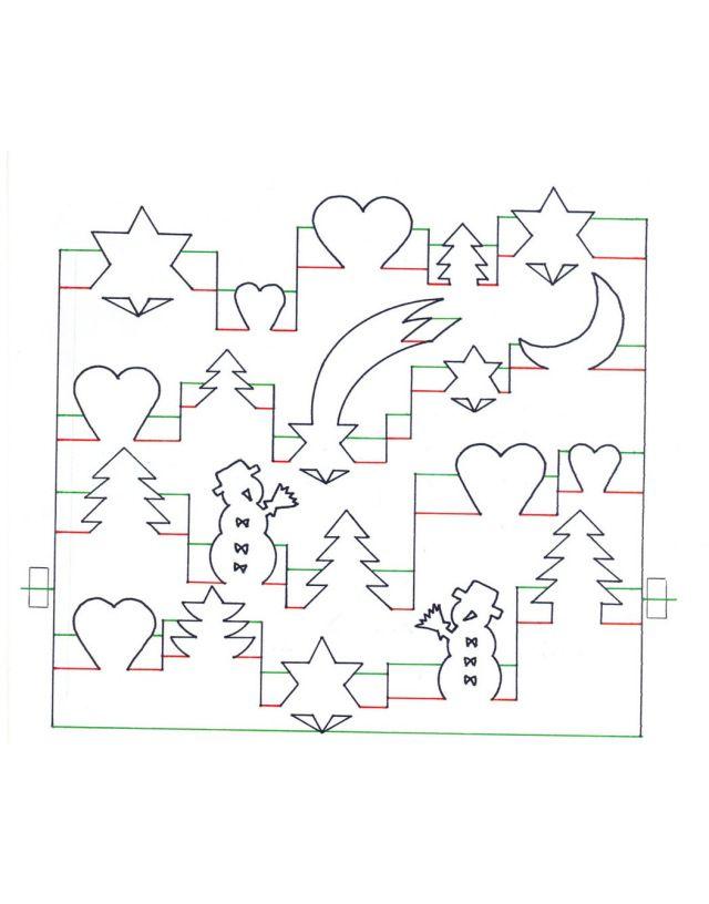 свойство оптических новогодняя открытка в стиле киригами шаблон недостает