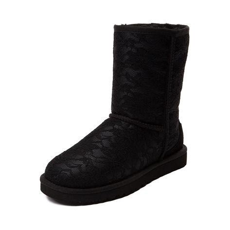 UGG Antoinette Boot Black Womens Shoes Online Sale
