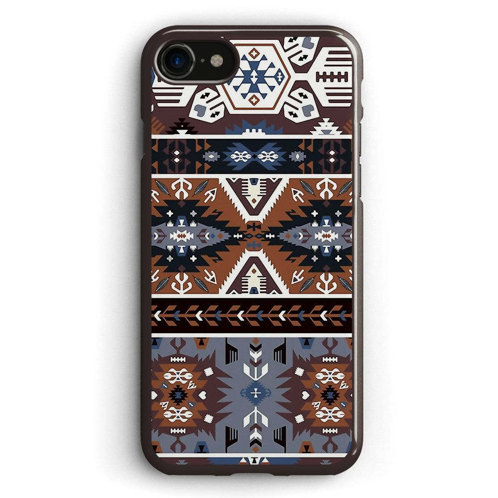 Decorative Noir Pattern in Tribal Style Apple iPhone 7 Case Cover ISVF042