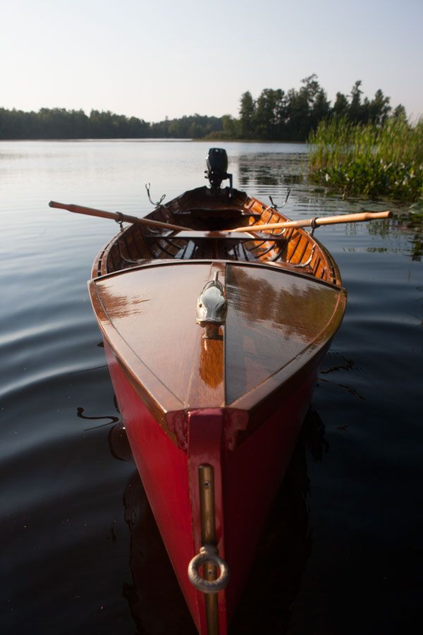 17ft Guide Boat by Winchester Boat Works of Presque Isle, Wisconsin, USA