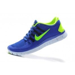 hot sales 3eaf1 7e004 Nike Free 5.0+ Herresko Blå Grønn  Nike sko tilbud  billige Nike sko på  nett  Nike sko nettbutikk norge  ovostore.com