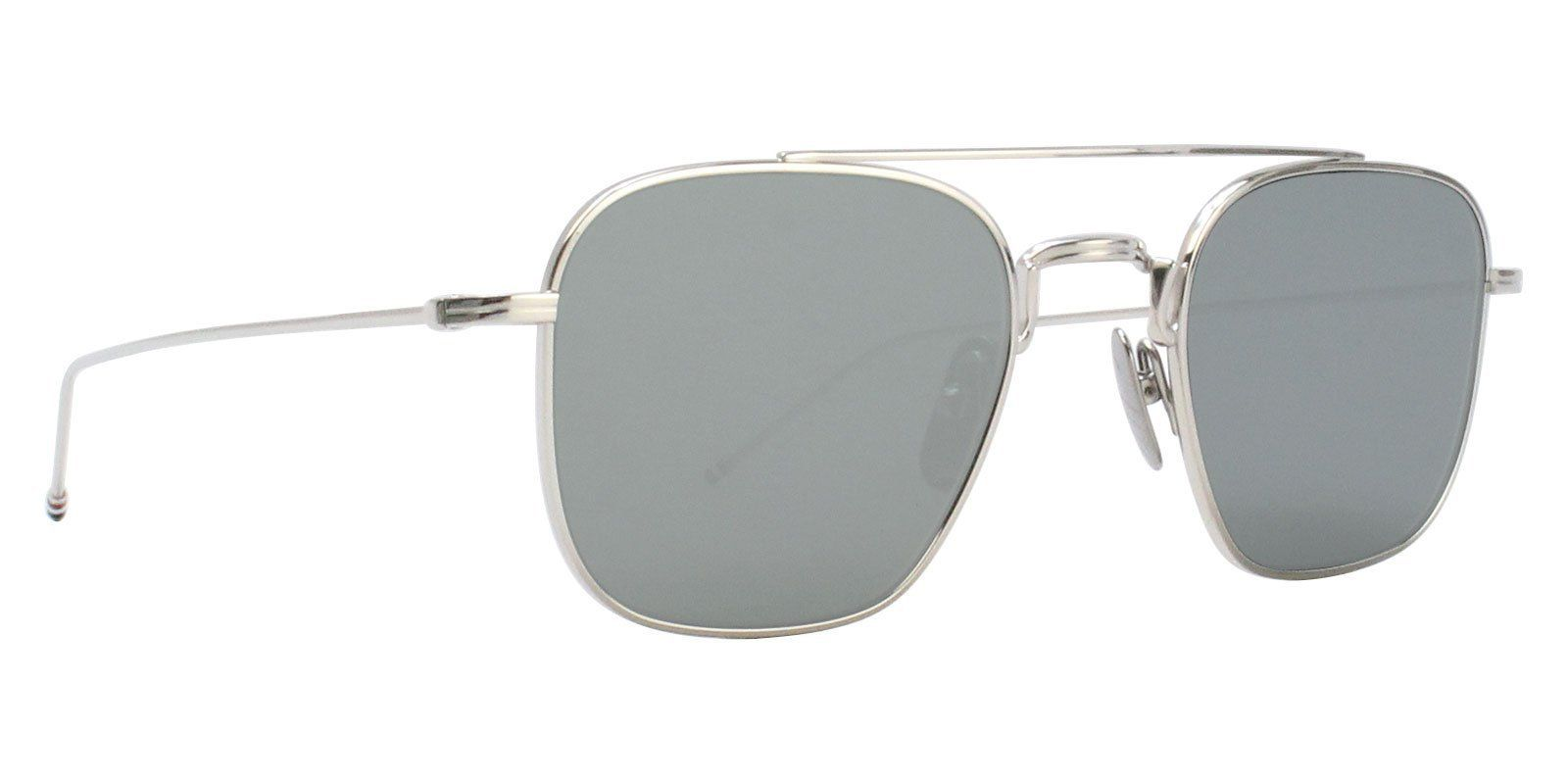 637abb759830 Thom Browne - TBS907-50 Silver - Silver sunglasses