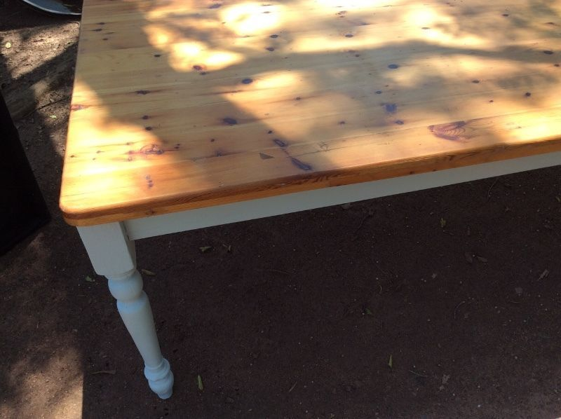 Other tables to view, please ask for size and COLOUR u need? just one this size at the moment but bigger than this 2!@ KZNS BIGGEST FURNITURE BARN 9 - 4 every day except Mondays! DELIVERY/DEBIT CARD FACILITIES - @ HILLCREST NOW OUR SECOND BRANCH 1 Fraser Road opposite Hillcrest Private hospital! Farm barn is 20 mins from Hillcrest shop, KZNS BIGGEST FURNITURE Barn! from Durban side go off N3 at Camperdown off ramp, left at top 3km, see sign before Tjuction, go Left at Tjunction, On R603, go…