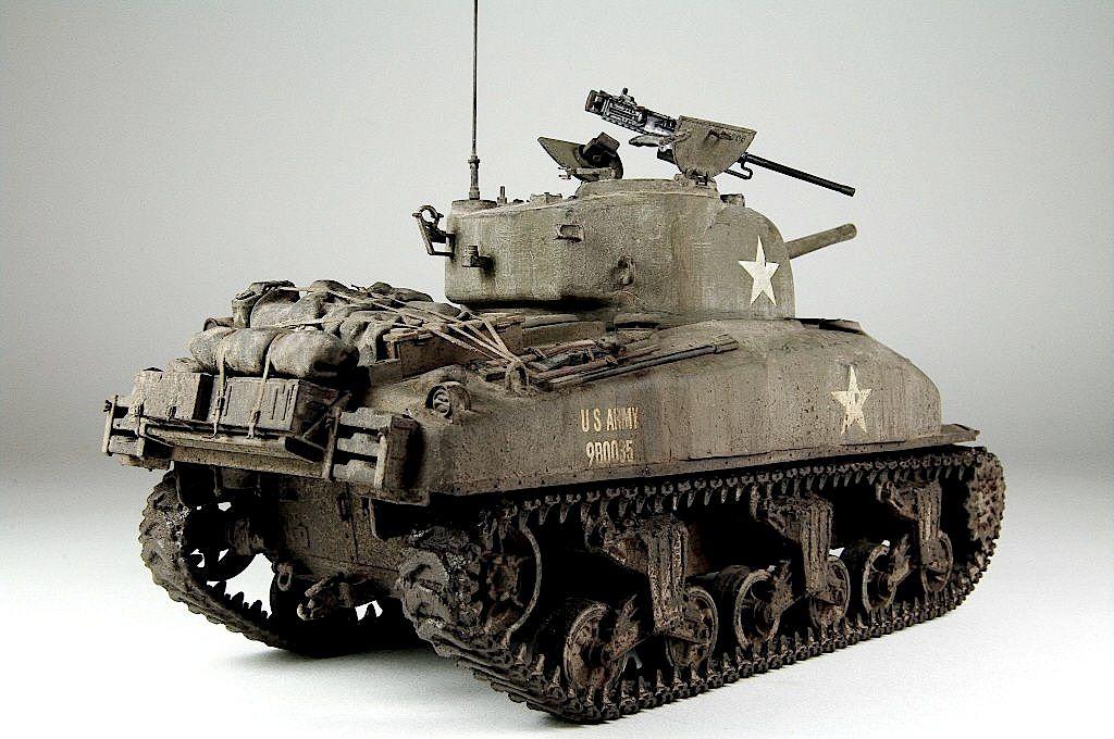 M4A1 (Big Hatch) | WWII Armor | Us armor, Sherman tank ...