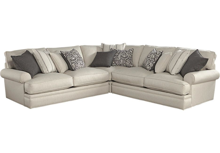 Cindy Crawford Home Lincoln Square Beige 3 Pc Sectional x x Find affordable Living Room Sets for your home that will complement the rest of your furniture.  sc 1 st  Pinterest : cindy crawford sectional rooms to go - Sectionals, Sofas & Couches