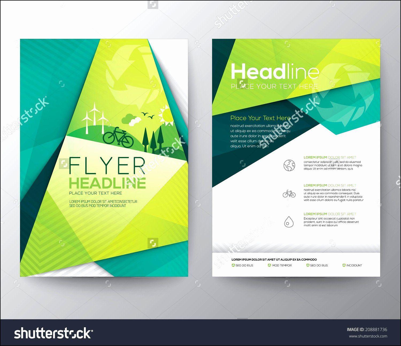Brochure Design Template Vector Free Download