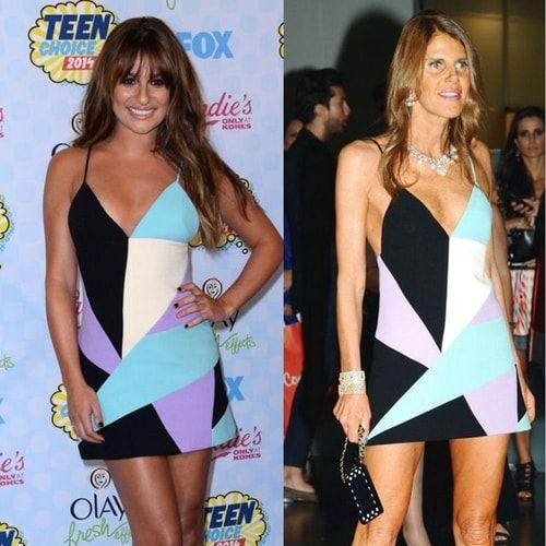 Due star, un vestito. le dive si sfidano a colpi di #look.A chi sta meglio?