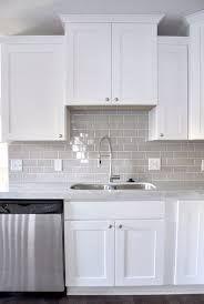 Image Result For White Kitchen With Grey Tile Splashback Kitchen Remodel Kitchen Cabinets Decor Kitchen Renovation