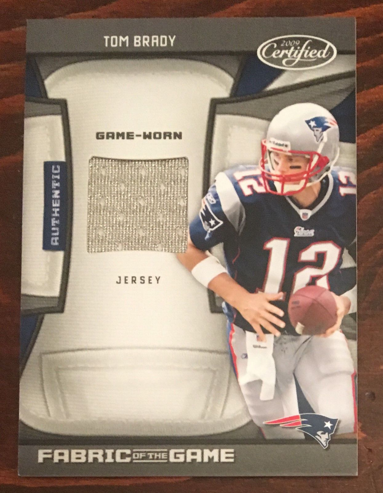 new style b7338 e827d sweden tom brady game worn jersey for sale b795f 3cd0b