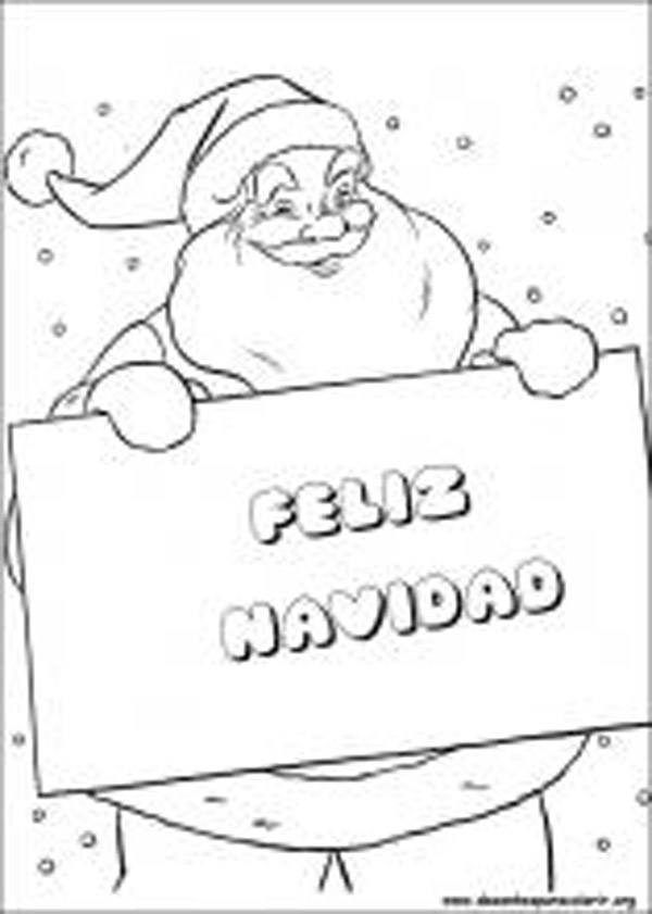 imagenes-de-navidad-para-colorear-feliz-navidad Torta de gasa - navidad para colorear
