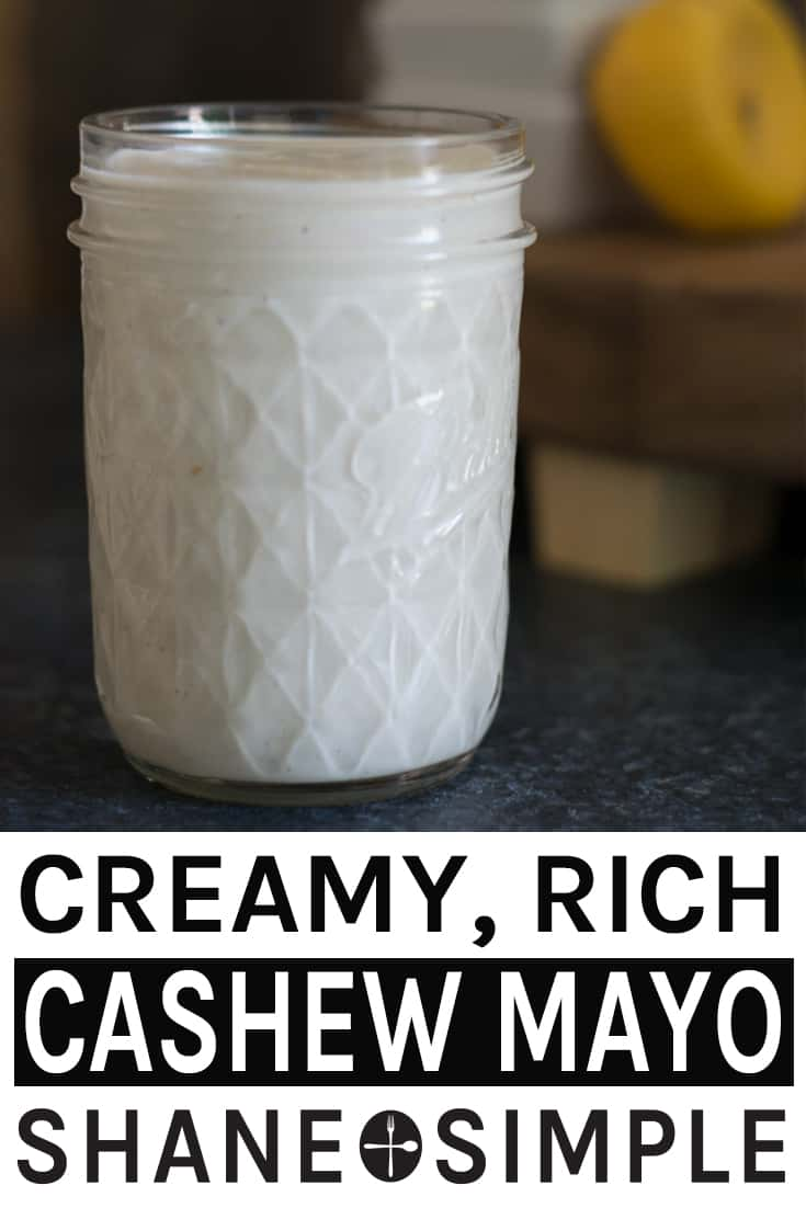 Cashew Mayo Recipe (Creamy, Rich, Tangy, & Vegan)