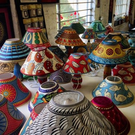 The Best Christmas Fairs Painting Lamp Shades Lampshades Cressida Bell