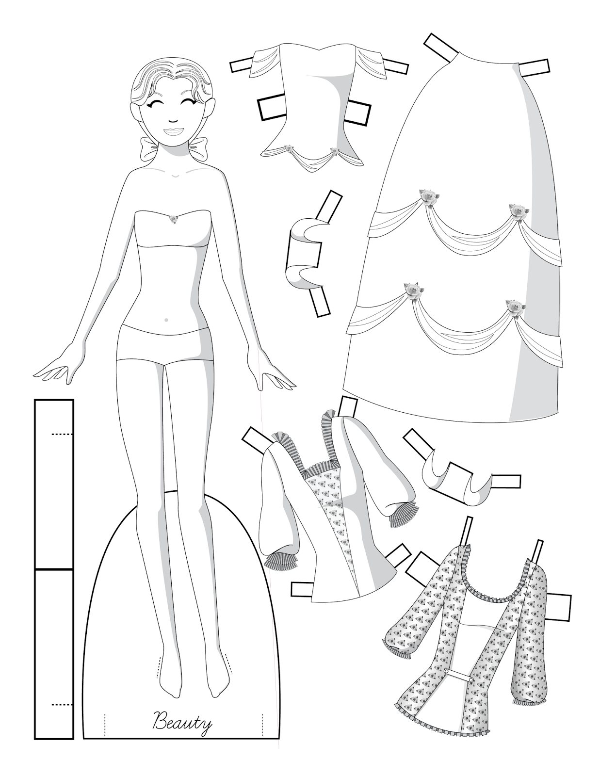 fairy tale paper dolls to color paper dolls fairy tales Future Games fairy tale paper dolls to color