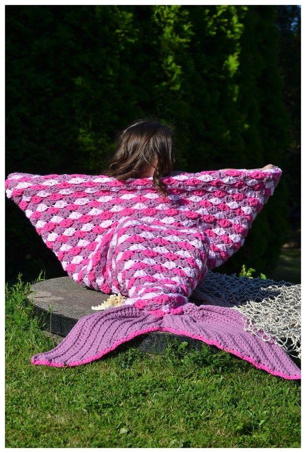 meerjungfrauen decke h keln maryell alle gr en und. Black Bedroom Furniture Sets. Home Design Ideas