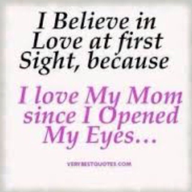 I love you mom sayings