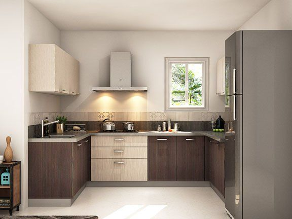 Agrinio U Shaped Modular Kitchen Designs