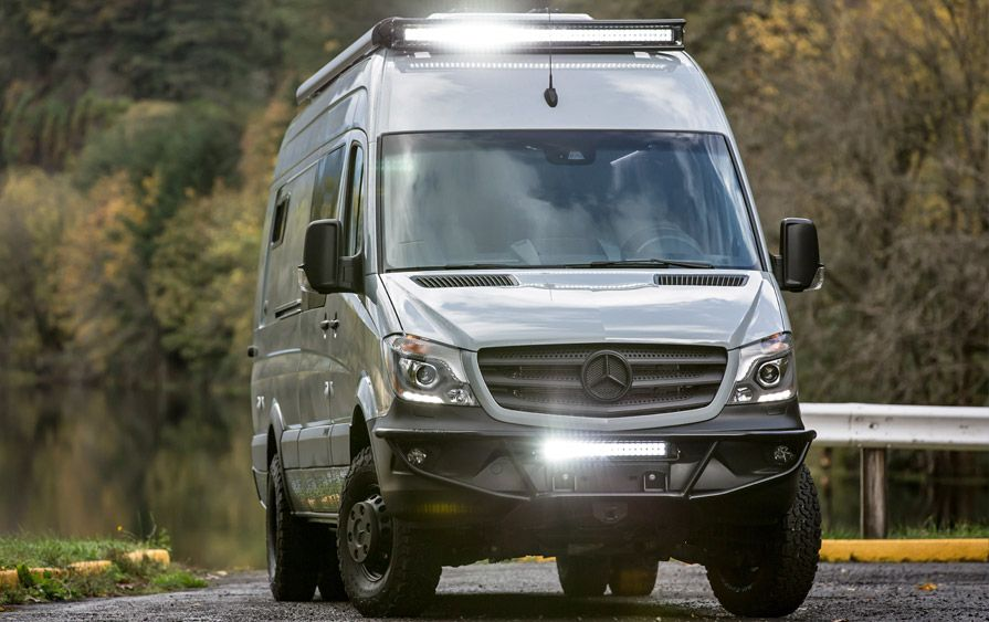 Benz Sprinter Camper Mercedes Van Conversion Life Campers